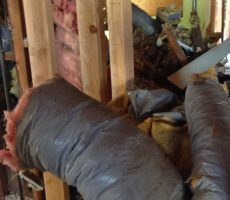 Heating ductwork removal