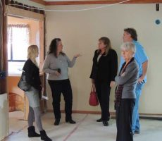Karen tells about plans for the kitchen