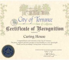 Torrance welcomes Caring House