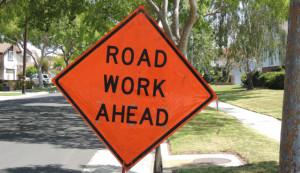 Sewer Work Ahead