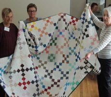 More quilts for Caring House