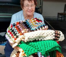 Lap blankets for Caring House