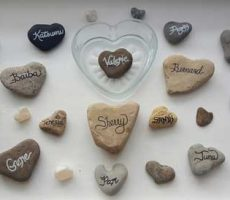 Heart-Shaped Memory Stones