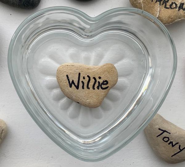 Willie memory stone