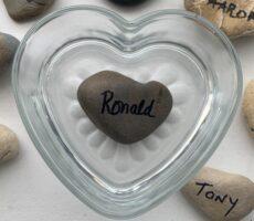Ronald R. memory stone