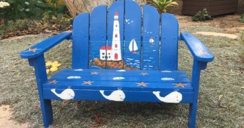 Kid-sized Adirondack chair